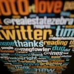 Screenshot of social media and Twitter handles
