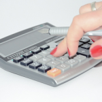 woman-using-calculator