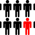 blog - blogger standing out from the crowd