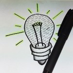 idea light bulb, how to make your blog posts more readable