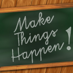 improve your blog, make things happen blackboard