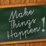 improve your blog, make things happen blackboard