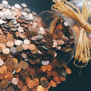 Blogging on a Budget, Jar of Coins