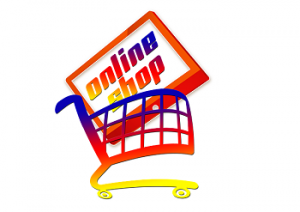 online shop and cart icon, sales page tips