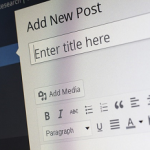 tips for blog titles, WordPress title section